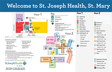 St. Mary's Campus Map
